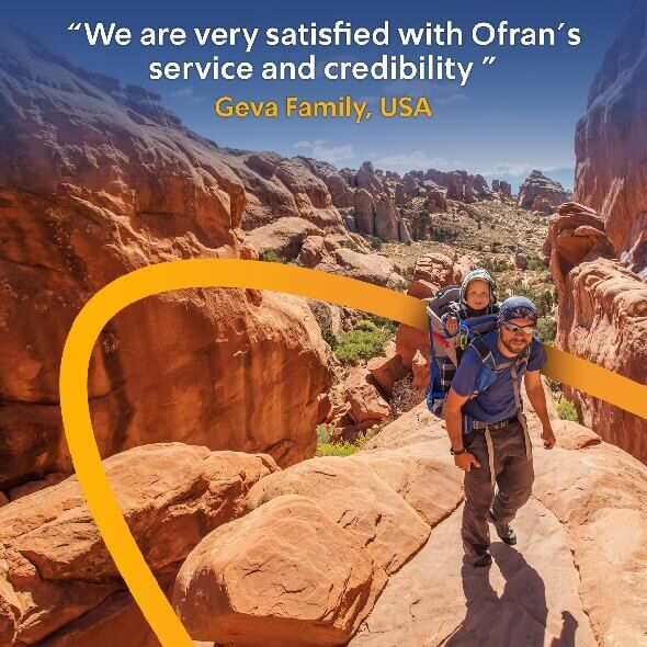 Review The advantage of Ofran is that the contract is in Hebrew Yaron USA